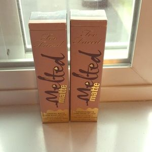 Too Faced melted matte lipsticks shade holy chic!